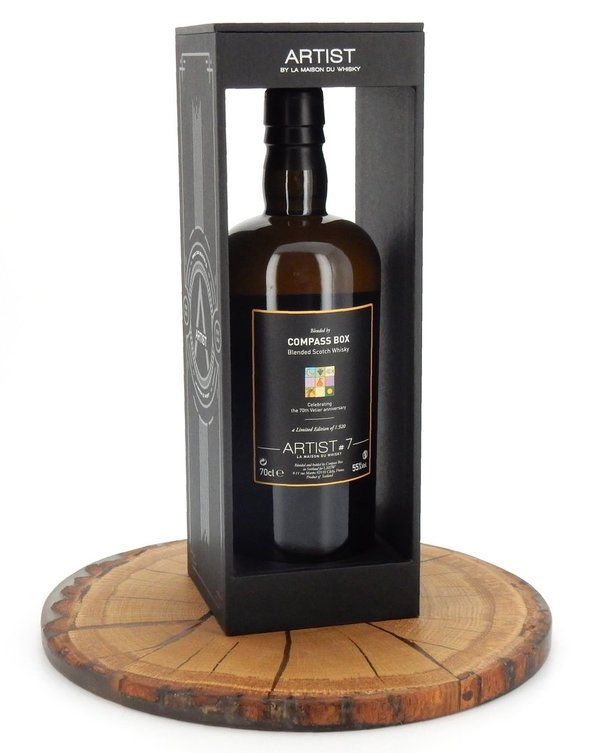 Blended Scotch Whisky ARTIST 7th Edition 55% (Compass Box)