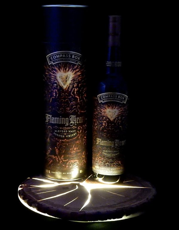Compass Box Flaming Heart 6th Edition 2018 48,9%