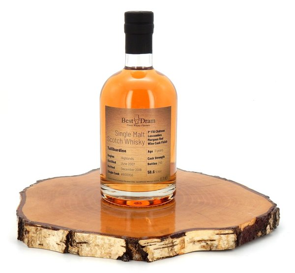 Tullibardine 11 Jahre 2007/2018 1st Fill Château lascombes. Red Wine Cask 58,6% (Best Dram)