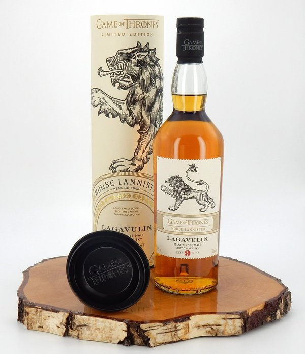 Game Of Thrones House Lannister Lagavulin 9 Jahre 46 Diageo