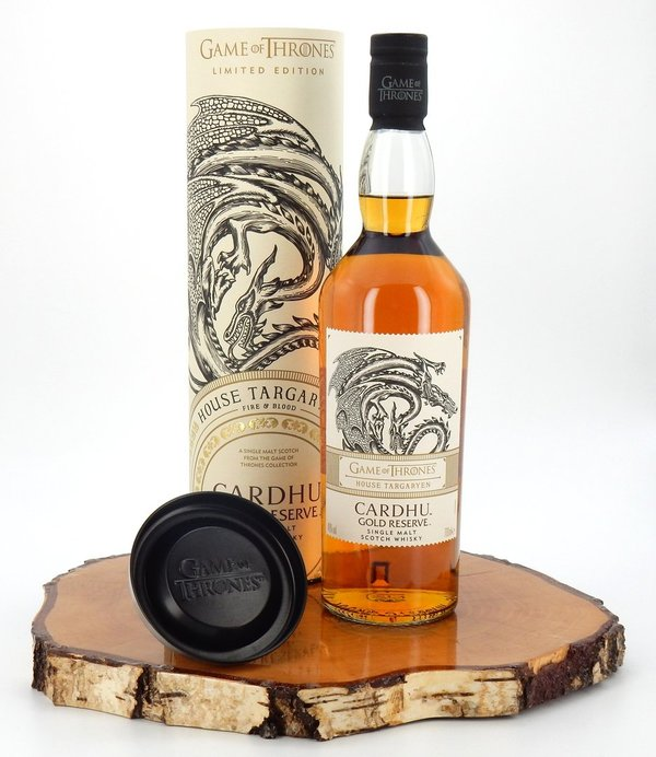 Game of Thrones - House Targaryen - Cardhu Gold Reserve 40% (Diageo)