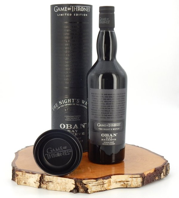 Game of Thrones - The Night's Watch - Oban Bay Reserve 43% (Diageo)
