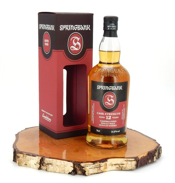 Springbank 12 Jahre Cask Strength 54,8% (Batch #18 / 2019)