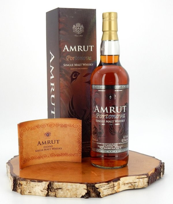Amrut Portonova - Indian Single Malt 62,1%  (Indien)