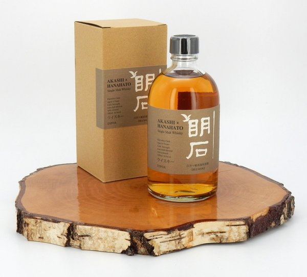 Akashi Hanahato Single Cask 61% 0,5L (Japan) (Rarität)