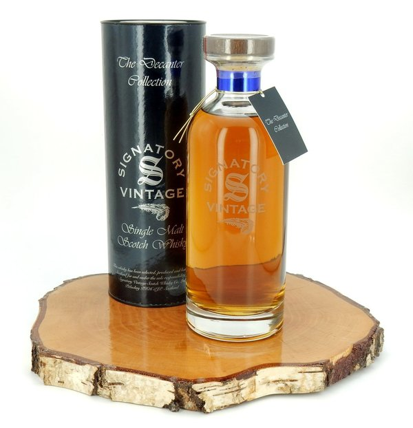 Glenrothes 21 Jahre 1997/2019 Ibisco Decanter Cask #6369 43% (Signatory Vintage)