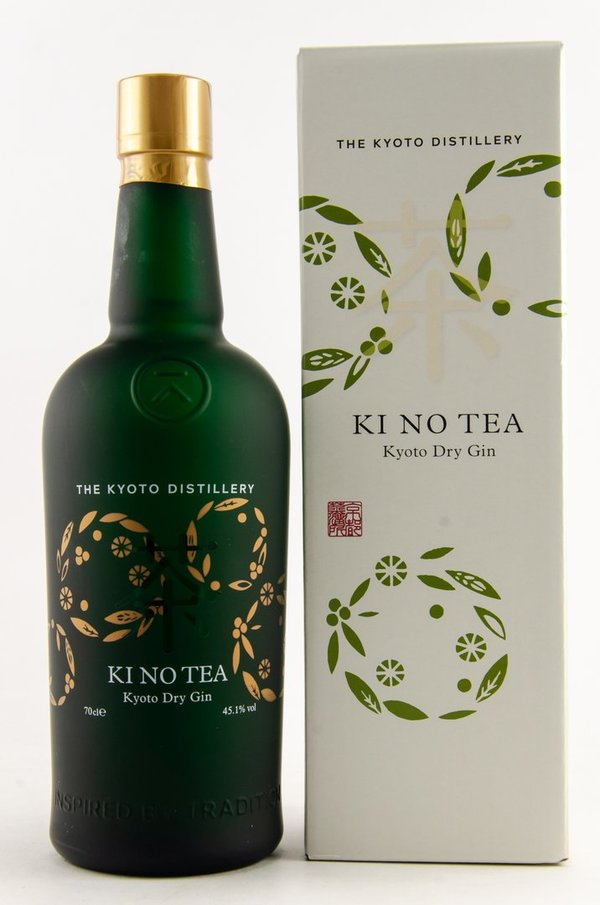 KINOBI Gin - Kyoto Ki No Tea 2018 Release 45,1% (Japan)