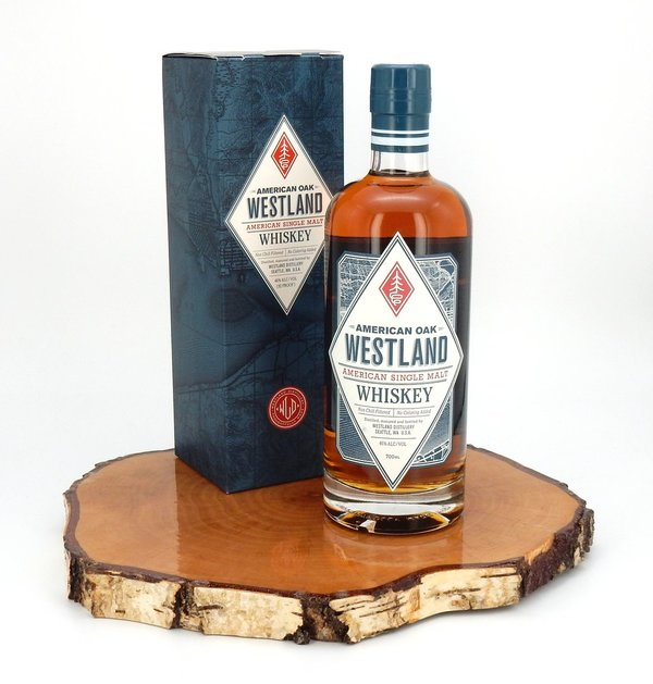 Westland American Oak Single Malt Whiskey 46% (USA)
