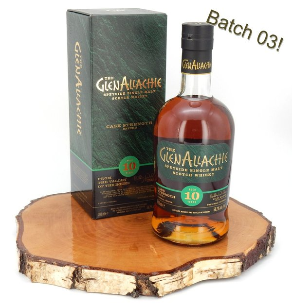 GlenAllachie 10 Jahre Cask Strength Batch 3 58,2%