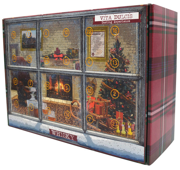 Adventskalender Whisky Edition International 2019 24x0,02l (Vita Dulcis)