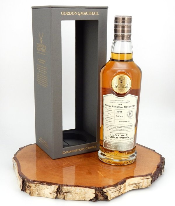Royal Brackla 1995/2019 24 Jahre Connoisseurs Choice CS 50,4% (Gordon & MacPhail)