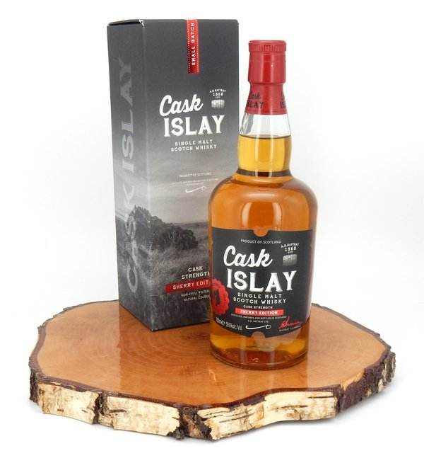 Cask Islay Limited Sherry Edition Cask Strength 59,9% (A.D.Rattray)